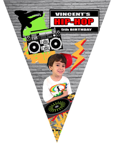 Hip Hop Birthday Banner