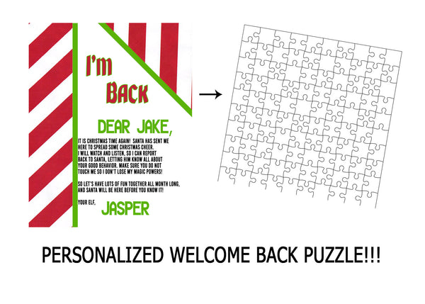 Welcome back Christmas puzzle