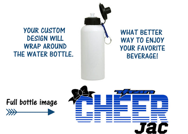 Titan cheer water bottle or mug