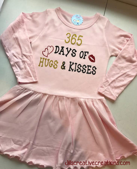 365 Days of hugs and kisses Dress