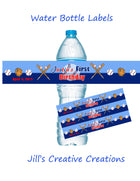 Sports water bottle labels