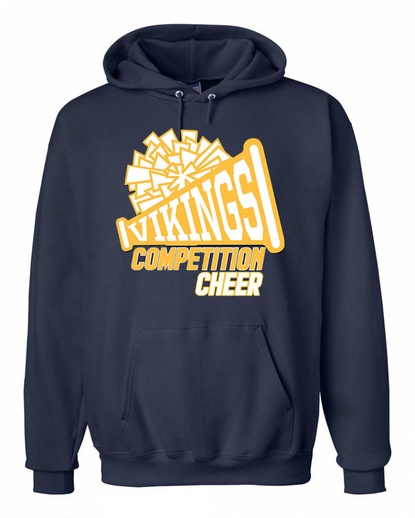 Vernon Cheer Design 1 Sweatshirt, NAVY