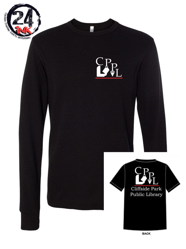 Cliffside Park Library long sleeve shirt, Business