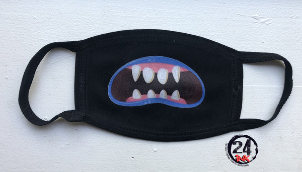 Funny Mouth Face Mask, Masks