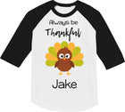 Thanksgiving shirt, Thankful