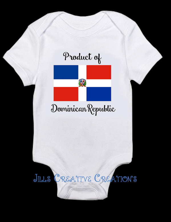 Product of Dominican Republic Bodysuit