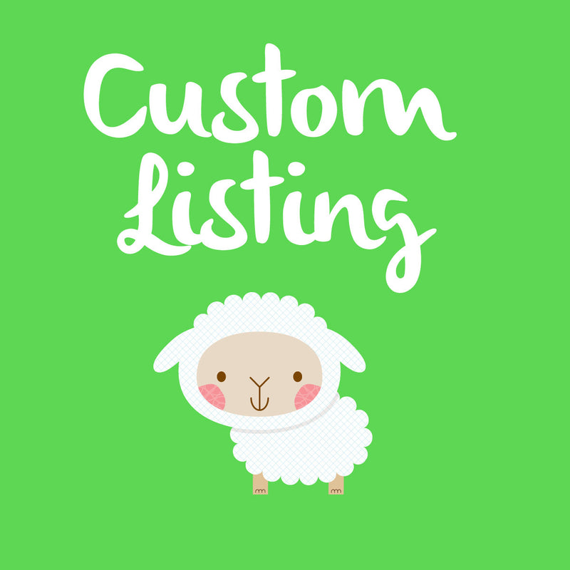 CUSTOM LISTING FOR  PRIORITY SHIPPING