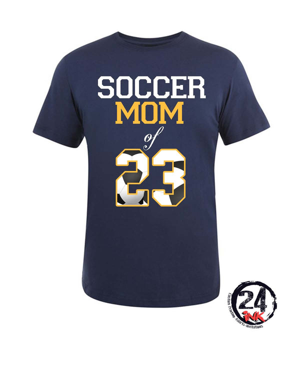 Soccer Mom of your players number T-Shirt