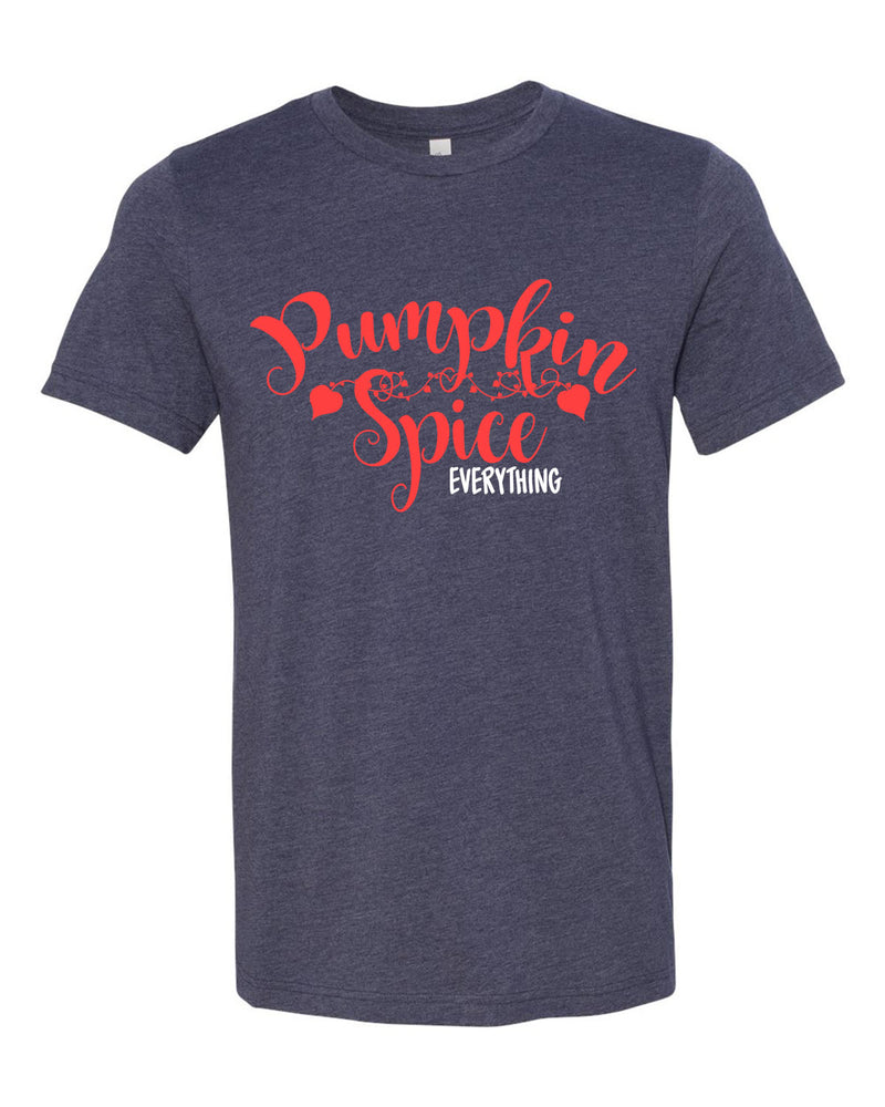 Pumpkin Spice Everything T-Shirt, Adult tee's