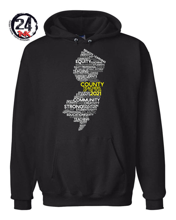 Teacher of the Year Hooded Sweatshirt