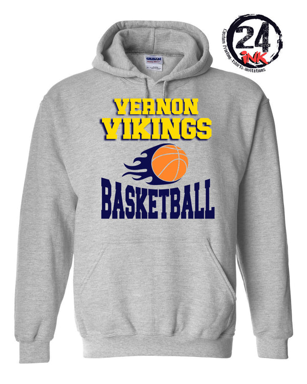 Vernon Basketball Hooded Sweatshirt