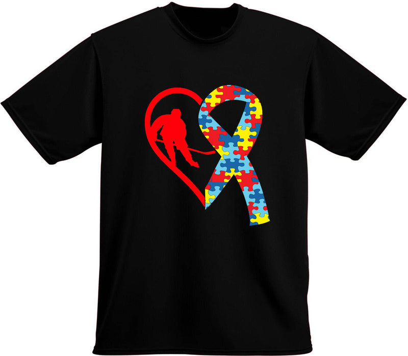 Autism Awareness T-Shirt, Hockey