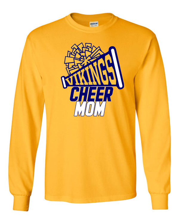 Vernon Cheer Design 2 Long Sleeve, GOLD