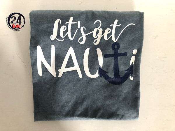 Get Naughty t-Shirt, vacation, Cruise