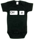 Ctrl C Ctrl V matching t-shirt set