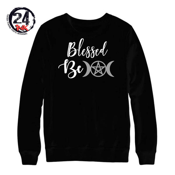Blessed Be non hooded sweatshirt