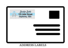 Elephant Return Mailing Address Labels