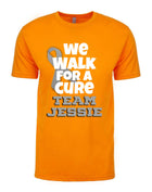 Walk for a cure T-shirt, Brain Cancer