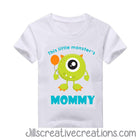 Monster Mom T Shirt