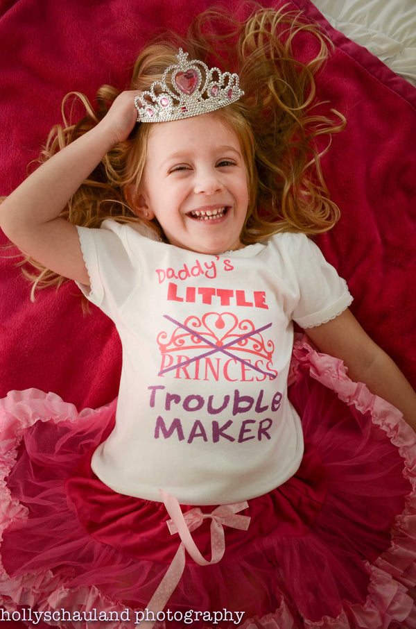 Daddy's Little Trouble Maker T-Shirt