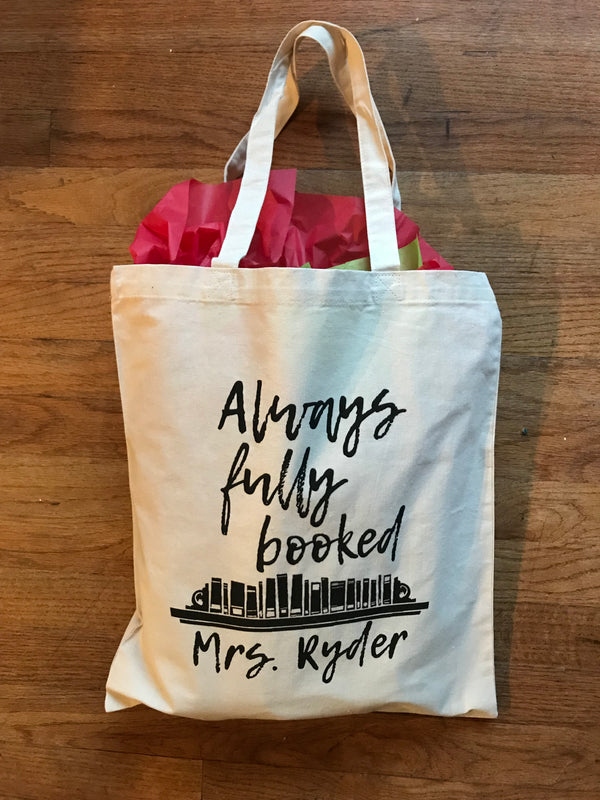 Always fully booked tote bag, Tote bags