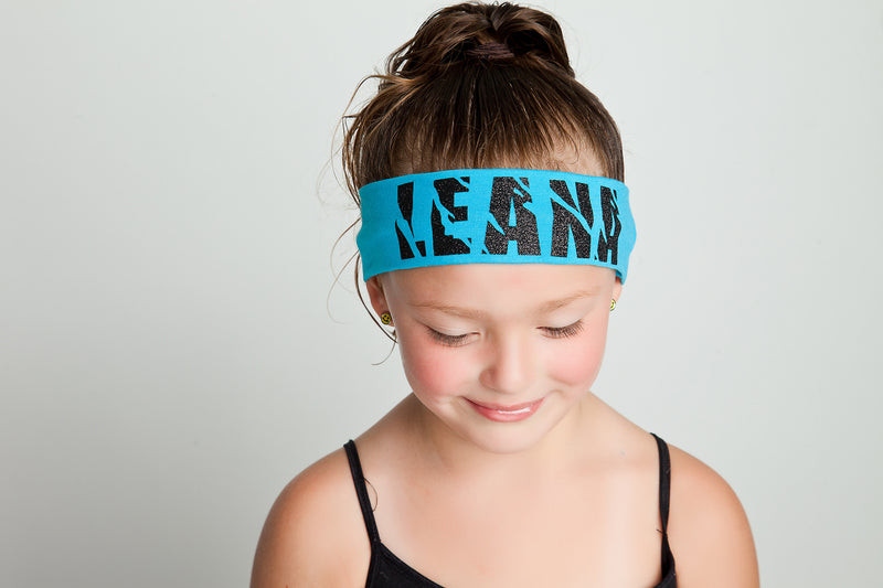 Glitter Personalized Headband