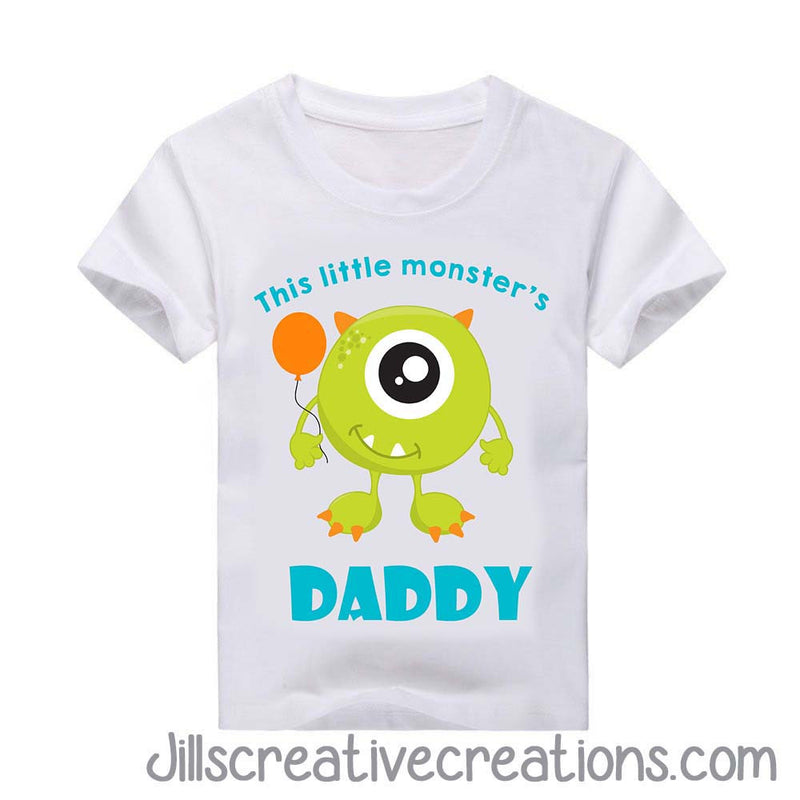 Monster Daddy T Shirt