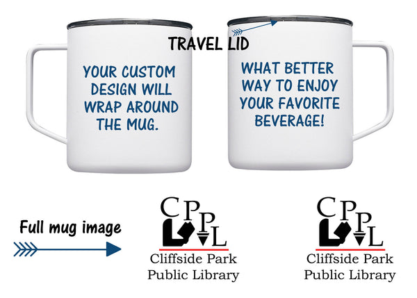Cliffside Park Library Travel Mug