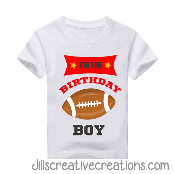FOOTBALL BIRTHDAY SHIRT