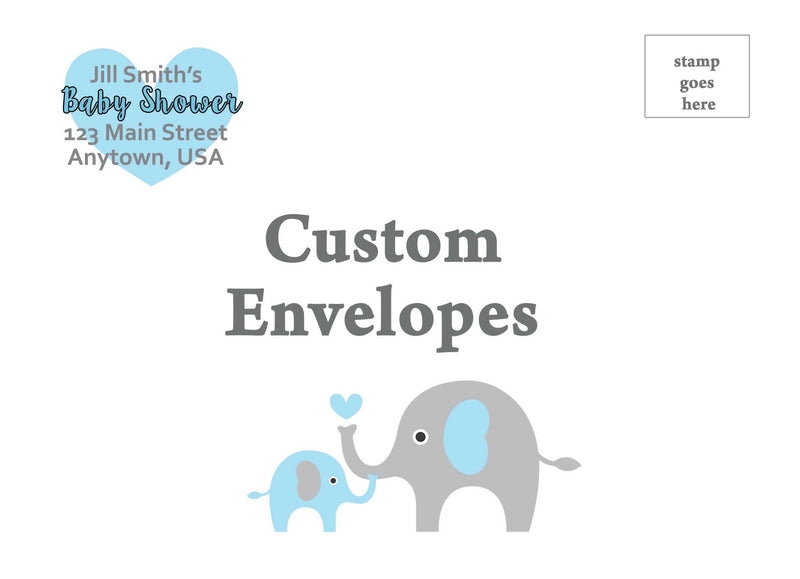 Elephant Envelopes