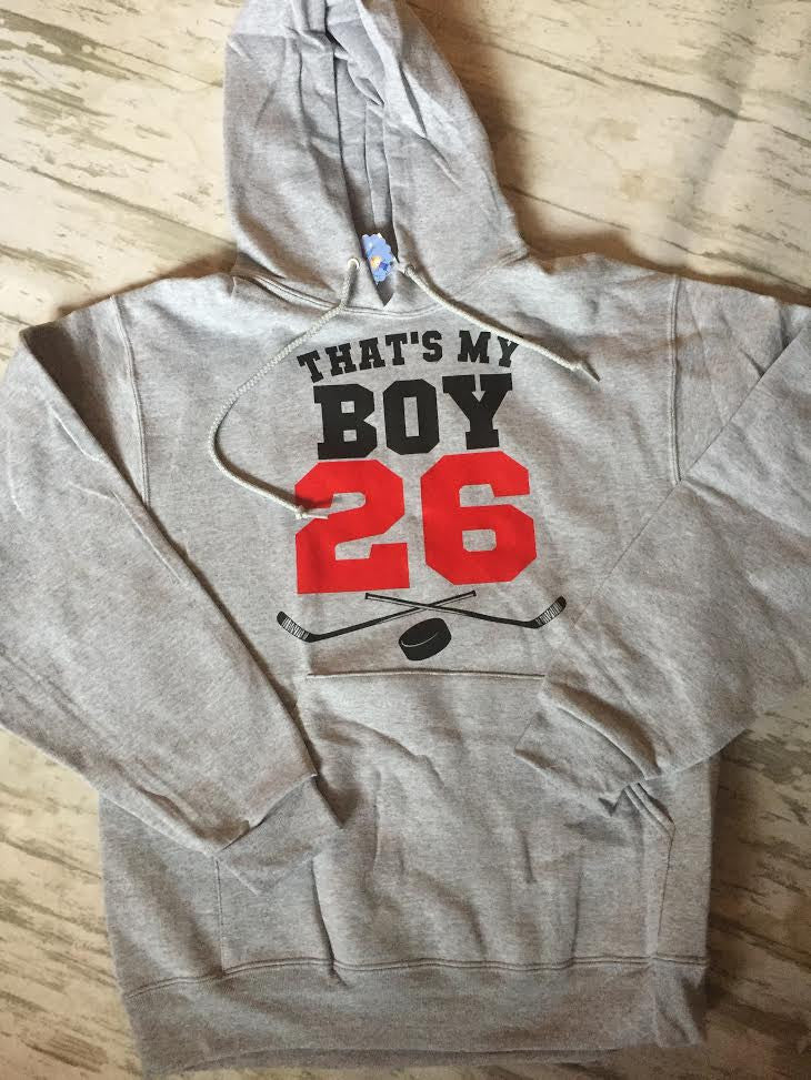 Hockey Supporting Sweatshirt
