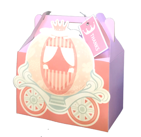 Princess Carriage Party Pack Front