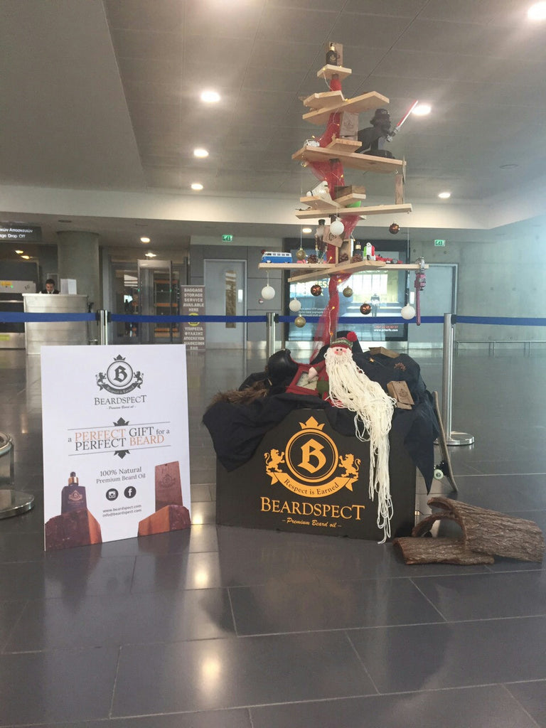 Beardspect - Hermes Airport - Christmas Tree Event