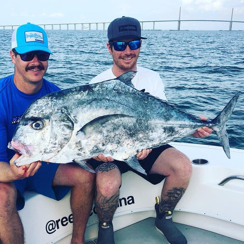catching african pompano in the gulf of mexico st petersburg