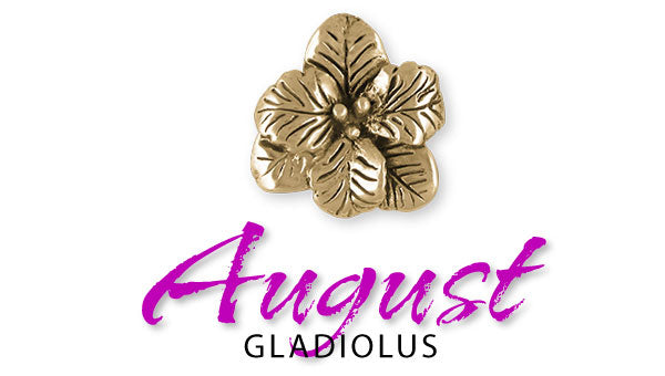 August Birth Flower Jewelry