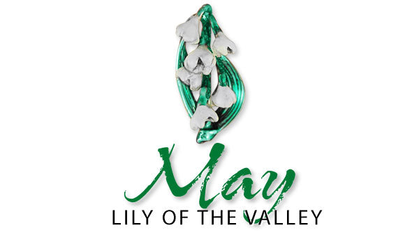 lily of the valley may birth flower jewelry