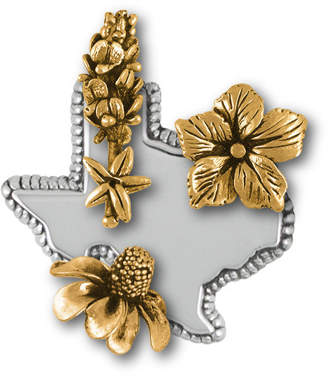 Texas wildflower jewelry and charms