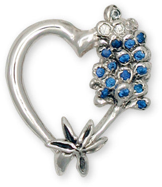 Bluebonnet charms and Bluebonnet jewelry Texas wildflowers