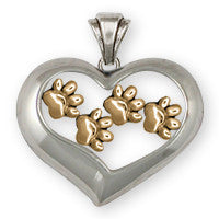 Dog Bone And Paw Jewelry