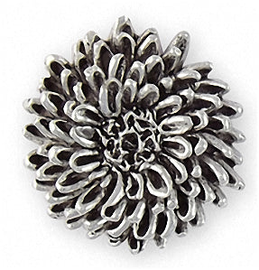 chrysanthemum charms and jewelry