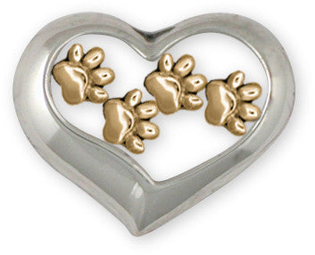 dog paw jewelry and dog paw charms