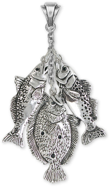 freshwater sport fishing jewelry grand slam, full stringer