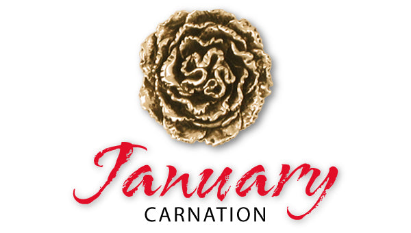Birth Flower Jewelry For January - Carnation