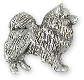 Keeshond Charms and Keeshond Jewelry Designs