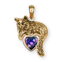 Maine Coon Cat Charms And Jewelry