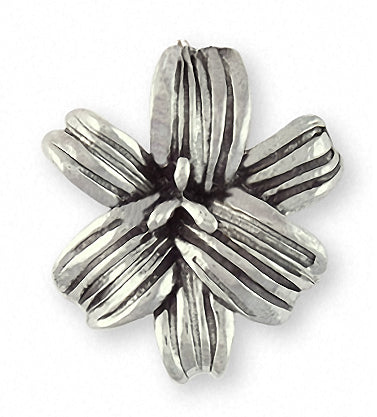 10pcs Antique Brass Lily Charms