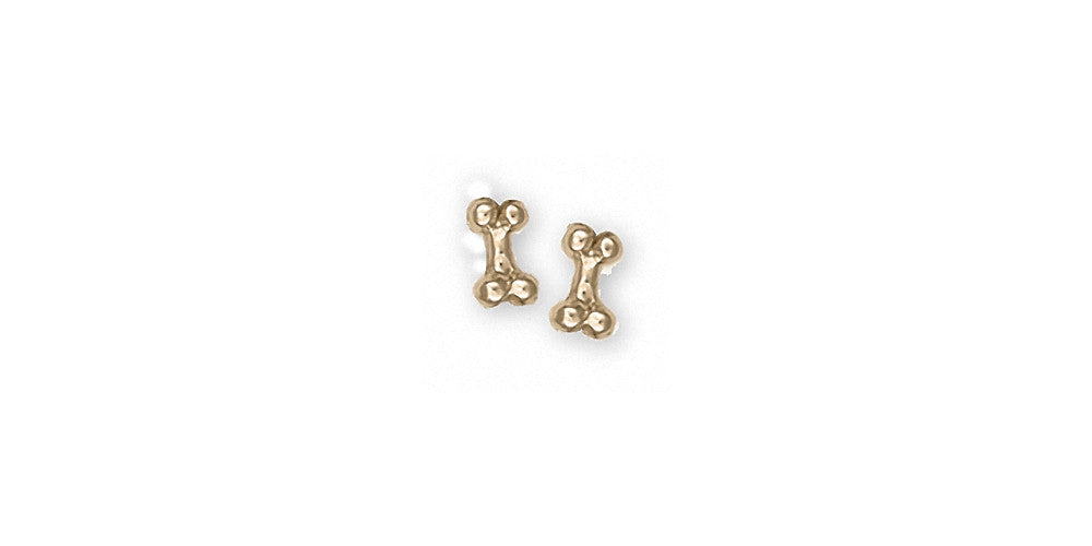 Dog Bone Charms Dog Bone Earrings 14k Gold Dog Jewelry Dog Bone jewelry