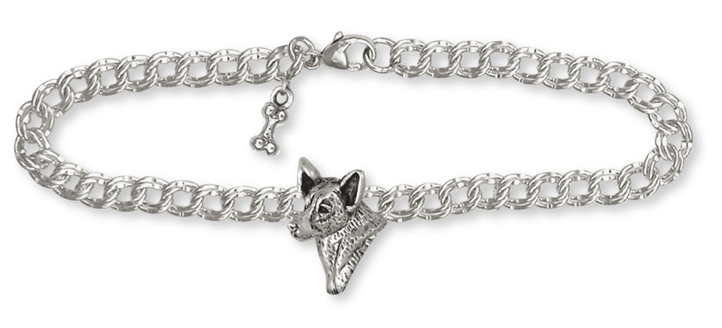 Australian Cattle Dog Charms Australian Cattle Dog Bracelet Sterling Silver Dog Jewelry Australian Cattle Dog jewelry