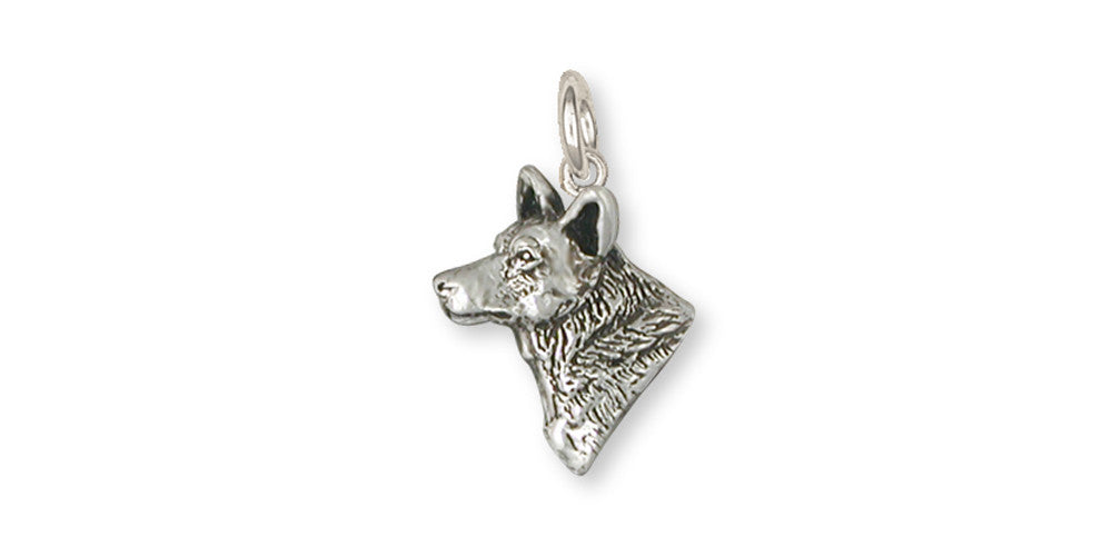 Australian Cattle Dog Charms Australian Cattle Dog Charm Sterling Silver Dog Jewelry Australian Cattle Dog jewelry
