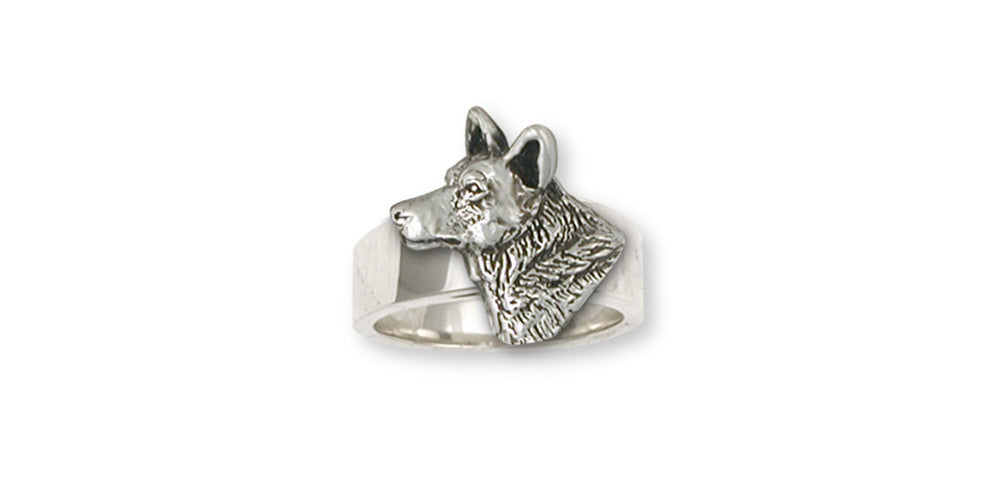 Australian Cattle Dog Charms Australian Cattle Dog Ring Sterling Silver Dog Jewelry Australian Cattle Dog jewelry